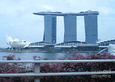 Photograph - Marina Bay Sands 17 by Randall Weidner