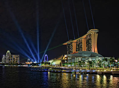 Marina Bay Sands At Night Original