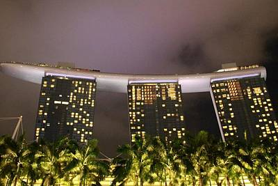 Photograph - Marina Bay Sands by Diane Height