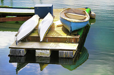 Photograph - Marina Boats by Juli Ellen
