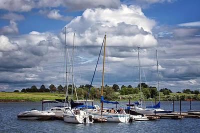 Photograph - Marina - Branched Oak Lake by Nikolyn McDonald
