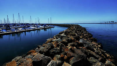 Photograph - Marina Breakwall by Joseph Hollingsworth