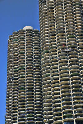 Photograph - Marina City - Chicago by Allen Beatty