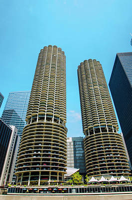 Photograph - Marina City Chicago by Deborah Smolinske