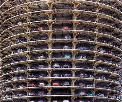 Photograph - Marina City Chicago by Gia Marie Houck
