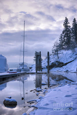 Photograph - Marina Dawn by Idaho Scenic Images Linda Lantzy