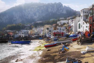 Marina Grande - Capri Art Print