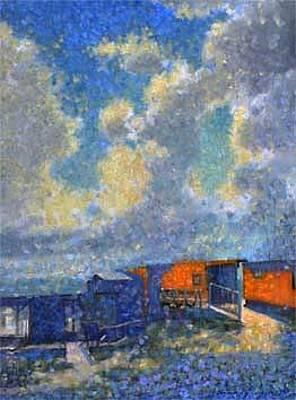 Painting - Marina Isle by Maury Hurt