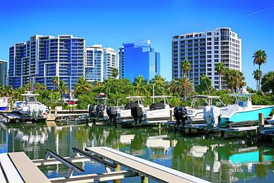 Photograph - Marina Jack, Sarasota Fl by Chris Smith