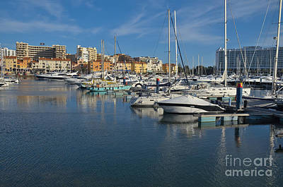 Marina Of Vilamoura At Afternoon Art Print