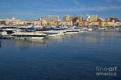 Europe Photograph - Marina Of Vilamoura During Afternoon by Angelo DeVal
