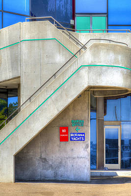 Photograph - Marina Office by Paul Wear