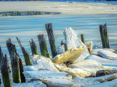 Photograph - Marina On The Rocks by Glenn Feron