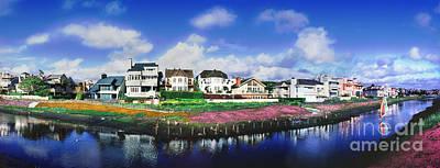 Photograph - Marina Peninsula Grand Canal 2 by David Zanzinger