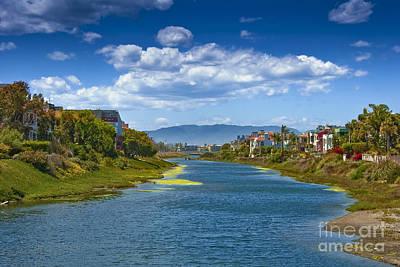 Photograph - Marina Peninsula Grand Canal by David Zanzinger