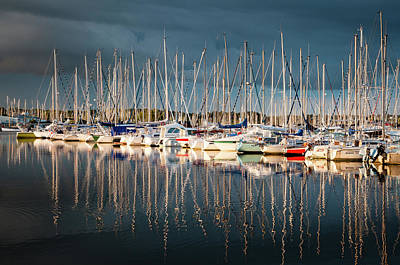 Photograph - Marina Sunset 4 by Geoff Smith