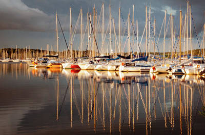 Photograph - Marina Sunset 6 by Geoff Smith