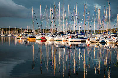 Photograph - Marina Sunset 7 by Geoff Smith