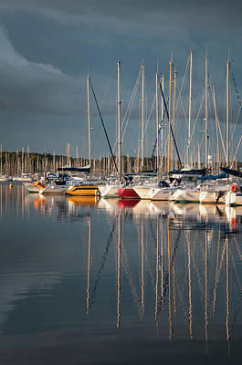 Photograph - Marina Sunset 8 by Geoff Smith