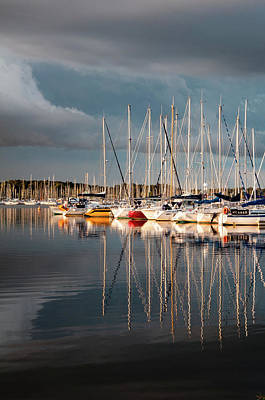 Photograph - Marina Sunset 9 by Geoff Smith