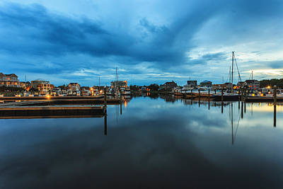 State Love Nancy Ingersoll - Marina Sunset by Nick Noble