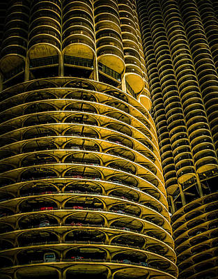 Photograph - Marina Towers by Barry Weiss
