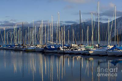 Photograph - Marina Tranquility by Idaho Scenic Images Linda Lantzy