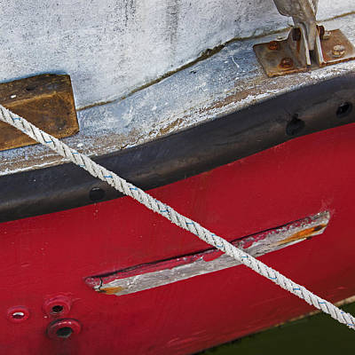 Photograph - Marine Abstract by Charles Harden