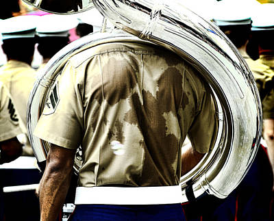Photograph - Marine Band by Kevin Duke