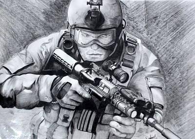 Marine Combat Original by Sanket Kurude
