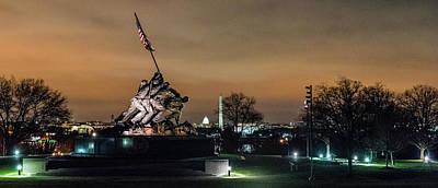 Photograph - Marine Corp War Memorial, Dc by T Brian Jones