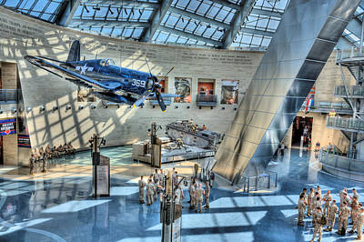 Photograph - Marine Corps Museum by JC Findley