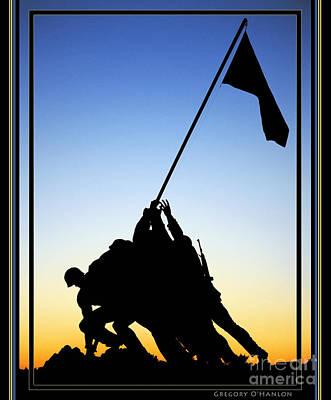 Gregory Ohanlon Photograph - Marine Corps War Memorial  by Gregory Ohanlon