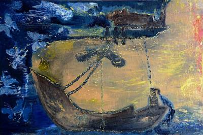 Painting - Marine Ecosystem by Evelina Popilian