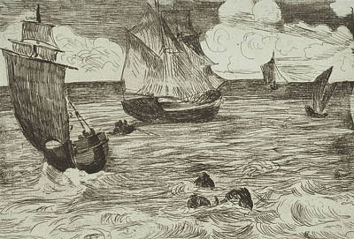 Relief - Marine by Edouard Manet