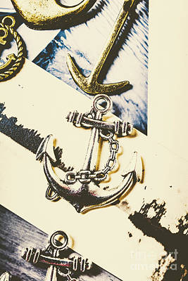 Hooks Photograph - Marine Insignia by Jorgo Photography - Wall Art Gallery