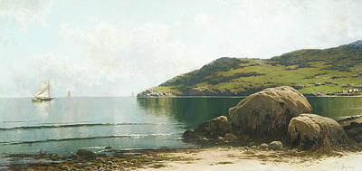 Painting - Marine Landscape by Alfred Thompson Bricher