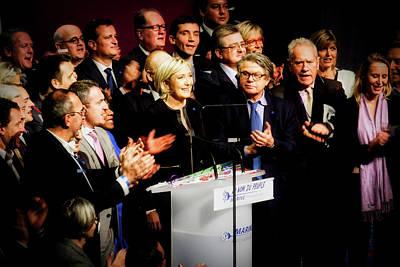 Photograph - Marine Le Pen by Pixabay