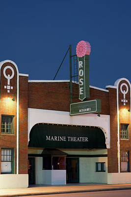 Photograph - Marine Theater Fort Worth 31517 by Rospotte Photography