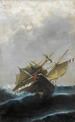 Painting - Marine by Vasilios Chatzis