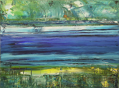 Painting - Marine Waters by Martin Bush