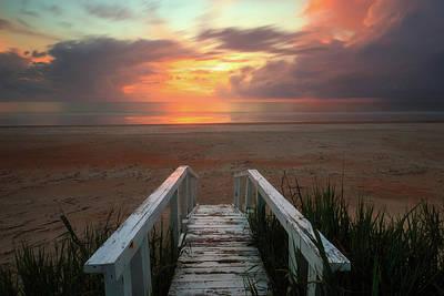 Marineland Sunrise Art Print