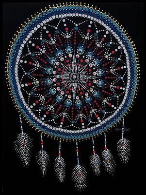 Painting - Mariner's Dream Catcher by Barbara Griffin