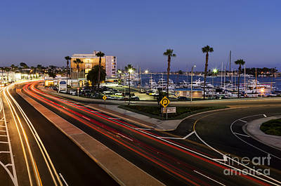 So Cal Digital Art - Mariner's Mile by Eddie Yerkish