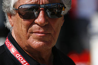 Andretti Autosport Photograph - Mario Andretti Racing Legend by Jeff  Young