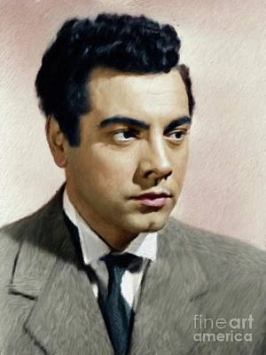 Musician Royalty-Free and Rights-Managed Images - Mario Lanza, Tenor/Actor by Mary Bassett