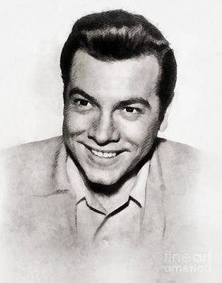Musicians Royalty Free Images - Mario Lanza, Vintage Singer and Actor Royalty-Free Image by John Springfield