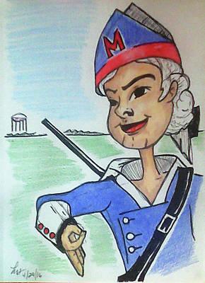 Marion Jr Art Print by Loretta Nash