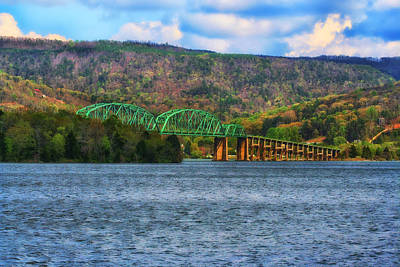 Photograph - Marion Memorial Bridge In Tennessee by Christopher Purcell