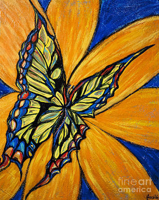 Painting - Mariposa by Rebecca Weeks Howard